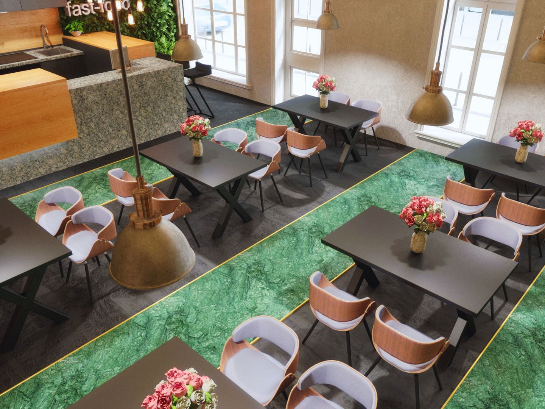 Fast food - design interior