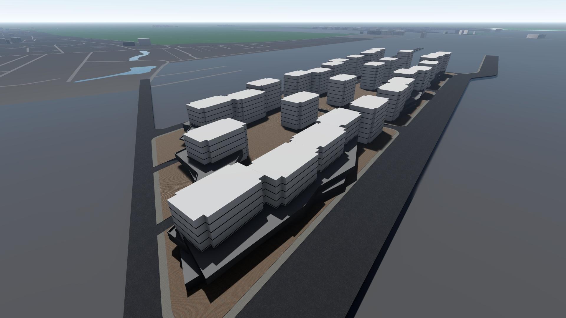 Elaborare PUZ pentru stabilire zonificare funcțională în vederea construirii unor imobile construcții cu destinația locuințe colective, spații servicii, împrejmuire